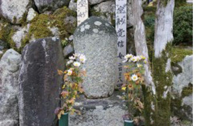 遊女梅川の墓(あそびめうめがわのはか)1
